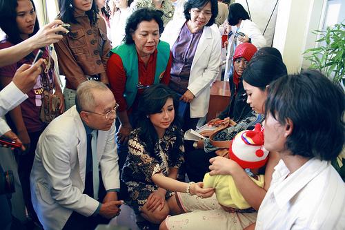 Kunjungan Putri Indonesia 2008