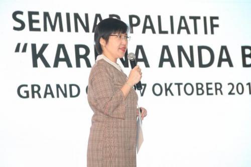 """Seminar Paliatif 25 Oktober 2018 """"Karena Anda Berharga"""""""