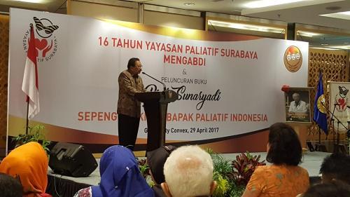 Launching Buku Prof. Sunaryadi, Bapak Paliatif Indonesia