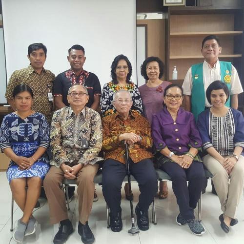 Kunjungan Tim Penggerak PKK Kota Kupang